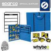 Sparco Racing Karting Pit Board Range - Pit Board / Carry Bag / Numbers / Frame