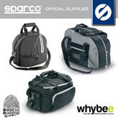 Sparco Racing Helmet Bags For Storage & Travel! Hans Bag / Black / Grey