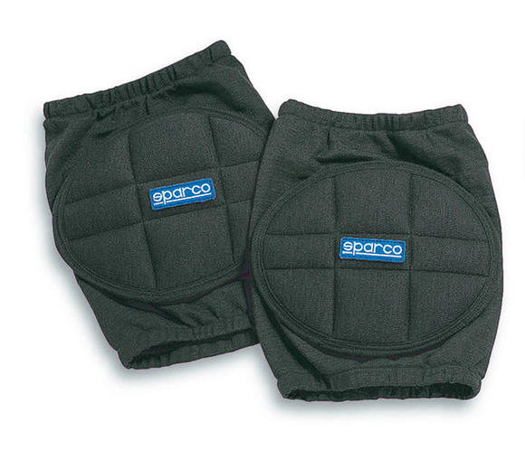00156N Sparco Racing Protective Knee Pads Black One Size - Genuine Sparco Pads! Preview