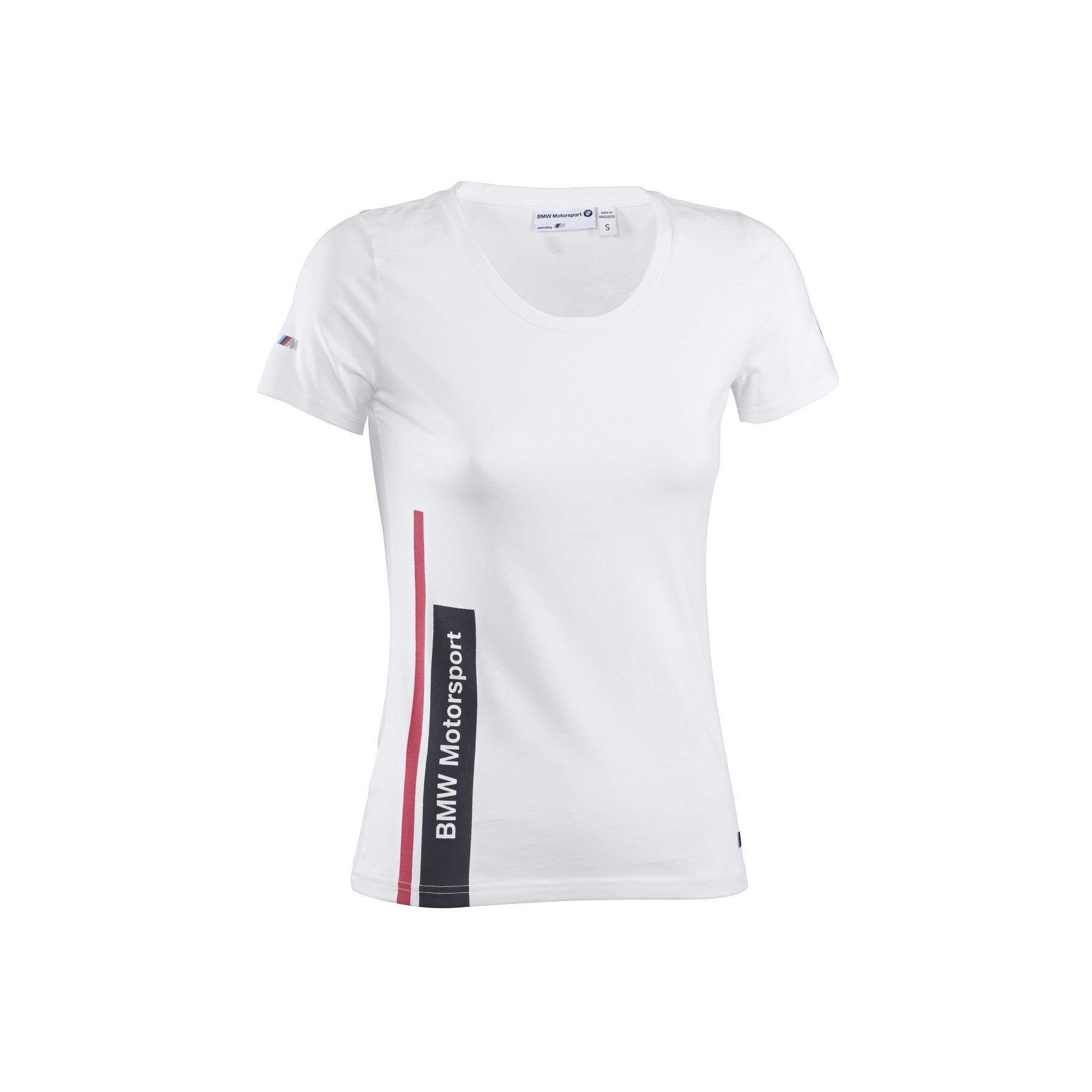 new puma bmw motorsport m sport womens t shirt white. Black Bedroom Furniture Sets. Home Design Ideas