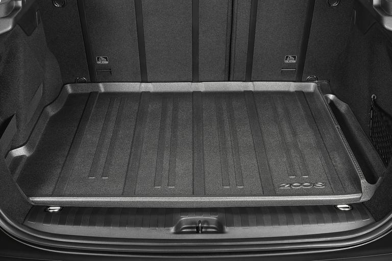 NEW! PEUGEOT 2008 THERMO FORMED FLEXI BOOT TRAY - GENUINE PEUGEOT ACCESSORY