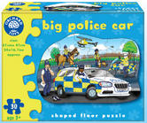 Orchard Toys 255 Big Police Car Kids Childrens British Floor Jigsaw Puzzle 3Yr+