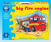 Orchard Toys 258 Big Fire Engine Kids Childrens Floor Jigsaw Puzzle 3-6 Years