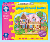 Orchard Toys 261 Gingerbread House Kids Childrens Floor Jigsaw Puzzle 3-6 Years