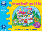 Orchard Toys 263 Magical Castle Kids Childrens British Floor Jigsaw Puzzle 3-6Yr