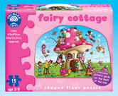 Orchard Toys 268 Fairy Cottage Kids Childrens British Floor Jigsaw Puzzle 2-5Yr