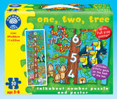Orchard Toys 276 One, Two, Tree Kids Childrens British Floor Jigsaw Puzzle 3-6Yr