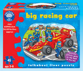 Orchard Toys 279 Big Racing Car Kids Childrens British Floor Jigsaw Puzzle 3-6Yr