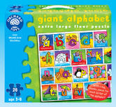 Orchard Toys 282 Giant Alphabet Kids Childrens Giant Jigsaw Puzzle 3 - 6 Years