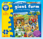 Orchard Toys 284 Giant Farm Kids Childrens Toddler Giant Jigsaw Puzzle 3 - 6 Yrs