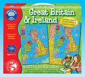 Orchard Toys 285 Great Britain & Ireland Puzzle & Poster Kids Childrens Jigsaw