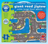 Orchard Toys 286 Giant Road Jigsaw Kids Childrens Giant Jigsaw Puzzle 3 Yrs +