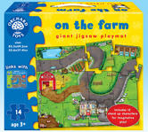 Orchard Toys 287 On the Farm Kids Childrens Toddler Giant Jigsaw Puzzle 3 Yrs +