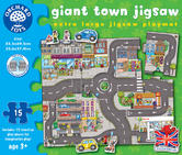 Orchard Toys 288 Giant Town Jigsaw Kids Childrens Giant Jigsaw Puzzle 3 Years