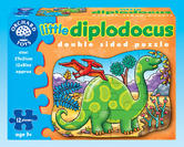 Orchard Toys 302 Little Diplodocus Kids Childrens First Jigsaw Puzzle 3 Yrs +