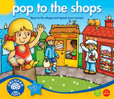 Orchard Toys 505 International Pop to the Shops Kids Childrens Game 5-9 Years