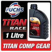 Fuchs Titan Race Comp Gear 1 Litre 80W-90 Racing Gear Oil Semi-Synthetic Fluid