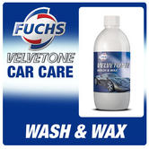 Fuchs Velvetone Car Wash And Wax 500ml Car Care & Cleaning Valet