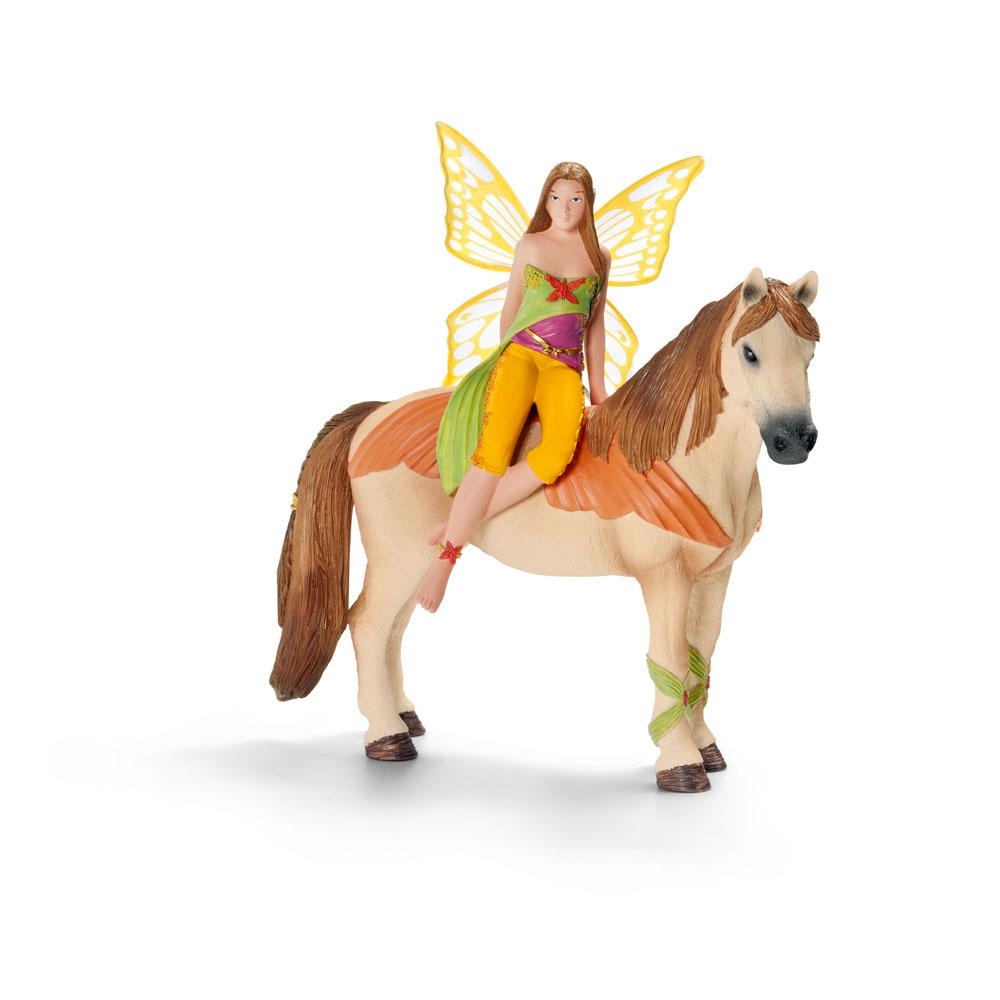 schleich bayala elfe pferd