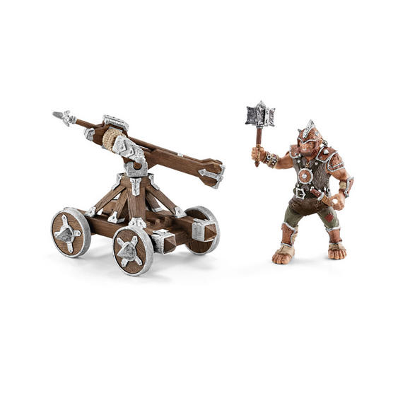 Schleich 42101 Ballista With Armourer - The World Of Knights - Accessories / New Preview