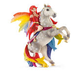 Schleich 70483 Amisi Figurine - World Of Fantasy Bayala - B - Elf On Horse / New