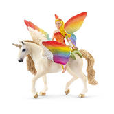 Schleich 70486 Ilaya - World Of Fantasy Bayala - B - Elf On Mythical C.. / New
