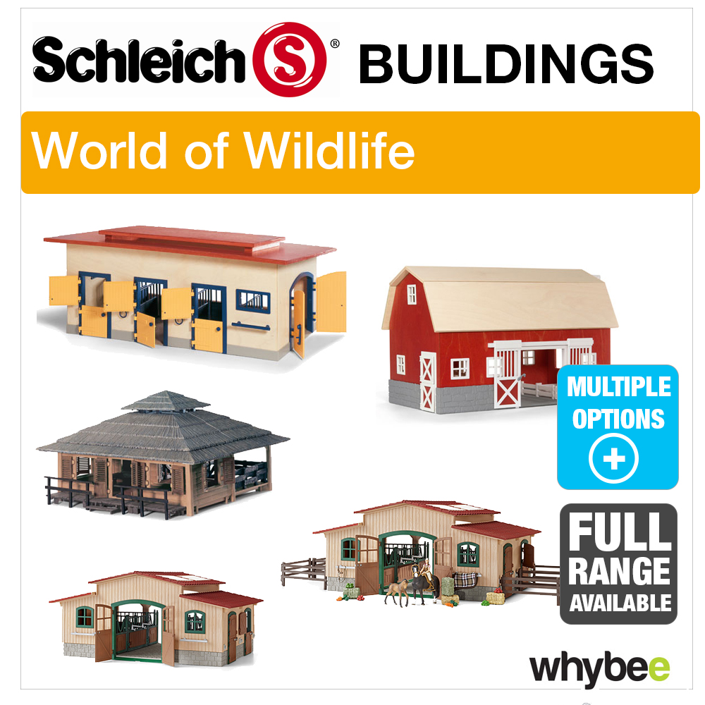 schleich world of nature farm life farm buildings stables. Black Bedroom Furniture Sets. Home Design Ideas
