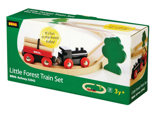 BRIO 33042 Little Forest Train Set - Railway Sets Age 3-5 years / 18 pcs New! Preview