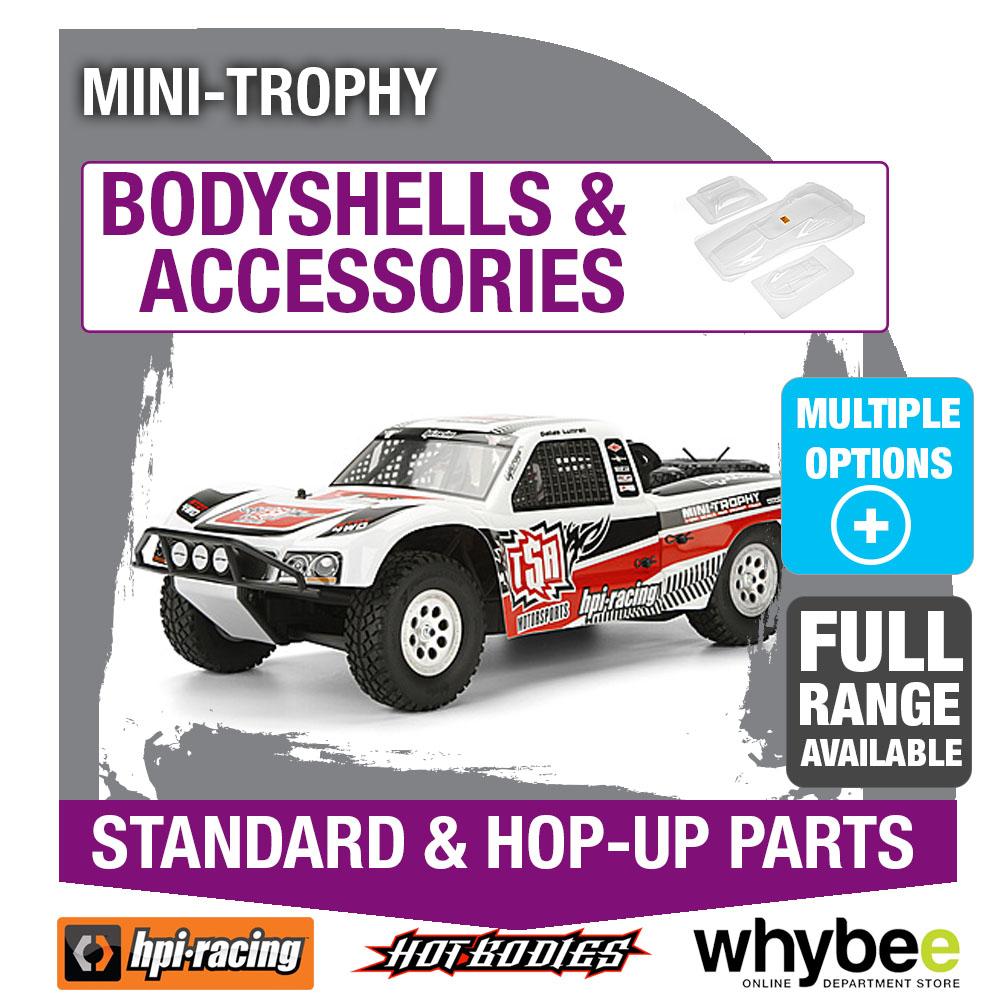 hpi mini trophy 4wd truck body shells genuine hpi racing r c parts ebay. Black Bedroom Furniture Sets. Home Design Ideas