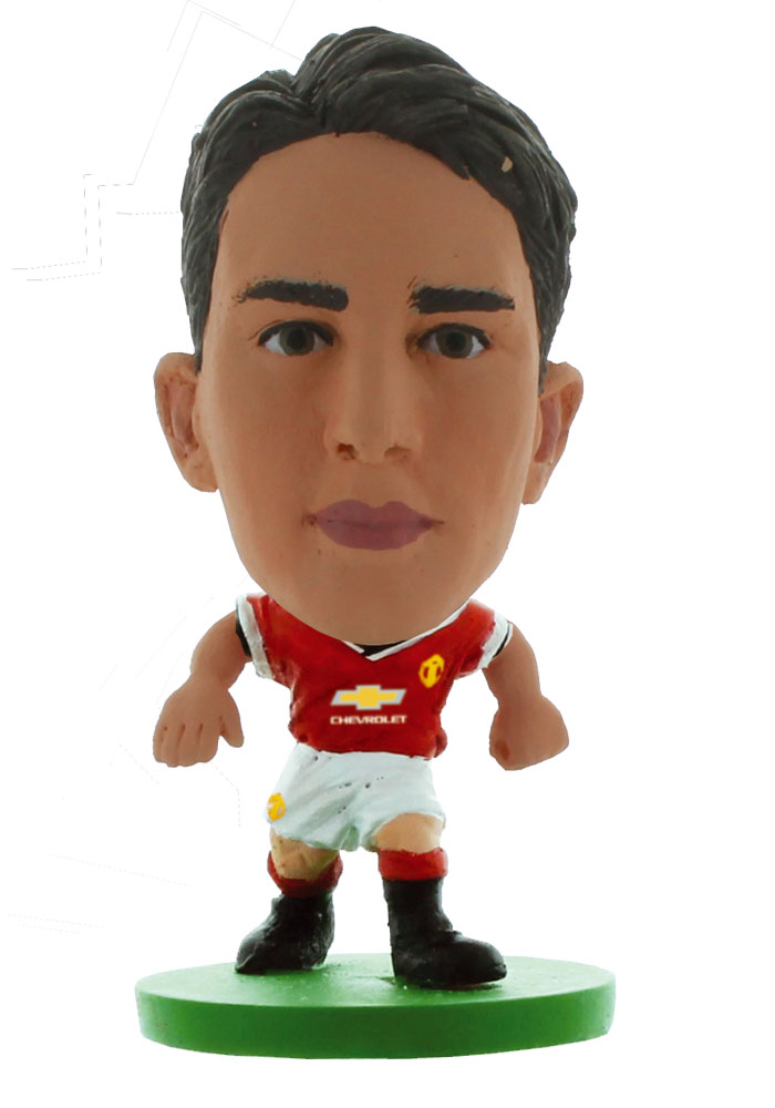 MANCHESTER UNITED SOCCERSTARZ FOOTBALL FIGURES -OFFICIAL RED DEVILS SOCCER STARZ