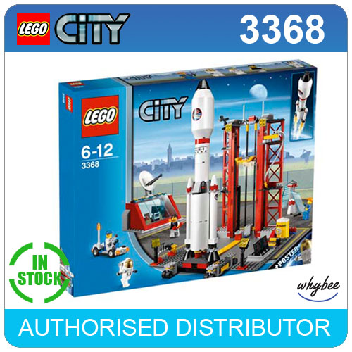 3368 LEGO Space Center LEGO City Space Port Age 6-12 / 494 Pieces | eBay