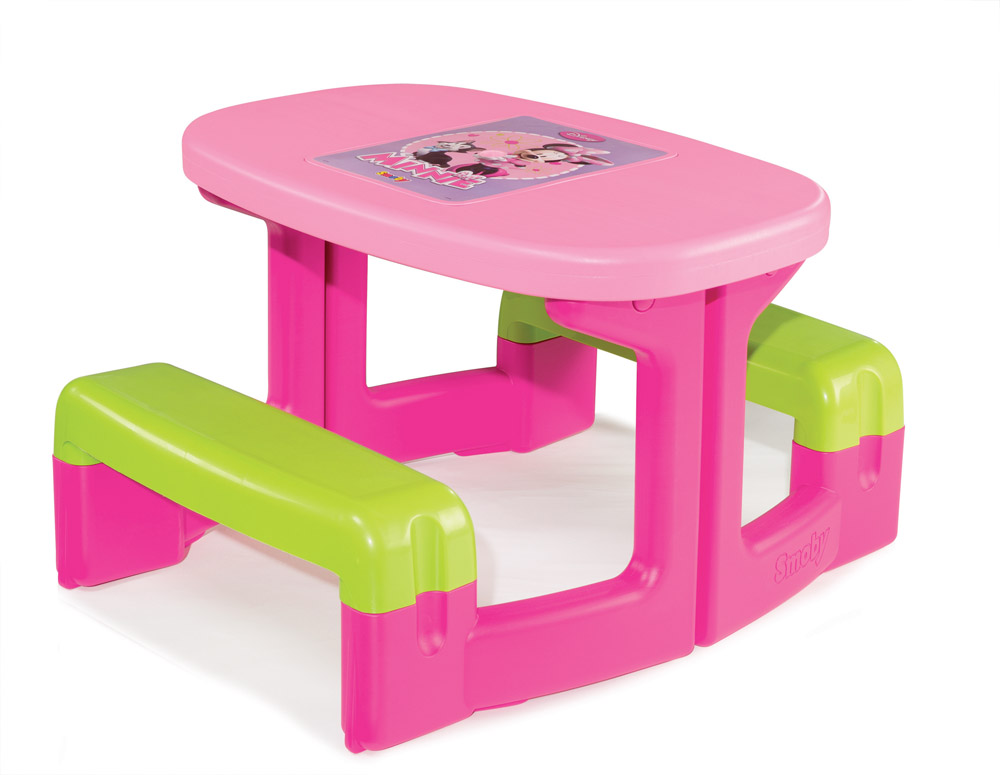simba smoby minnie picnic table children 39 s play set 310291 brand