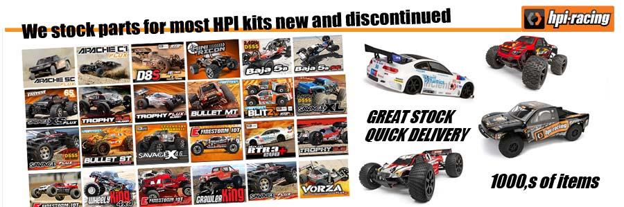 HPI Racing BULLET ST FLUX  Z663 LOCK NUT M3 (6pcs) - GENUINE NEW PART!