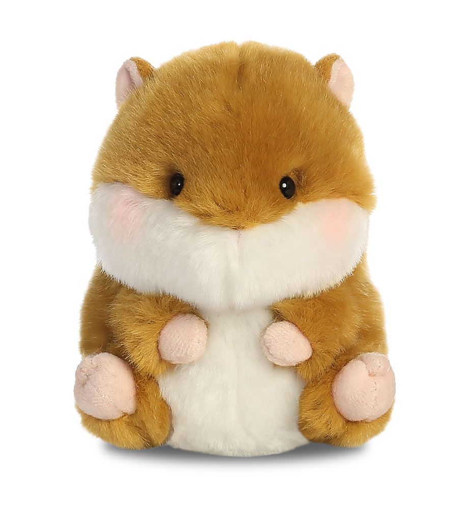 Soft Plush Toys : New aurora rolly pets plush soft toy animals size cm