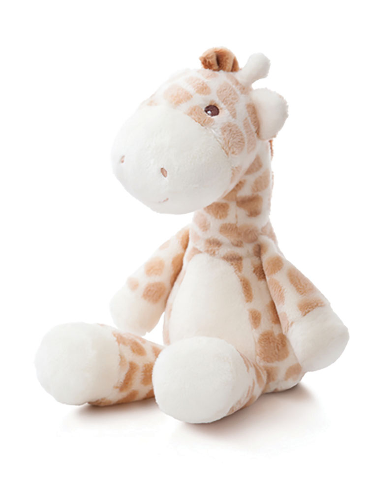 Baby Plush Toys : New aurora gigi giraffe plush soft toy rattle comforter