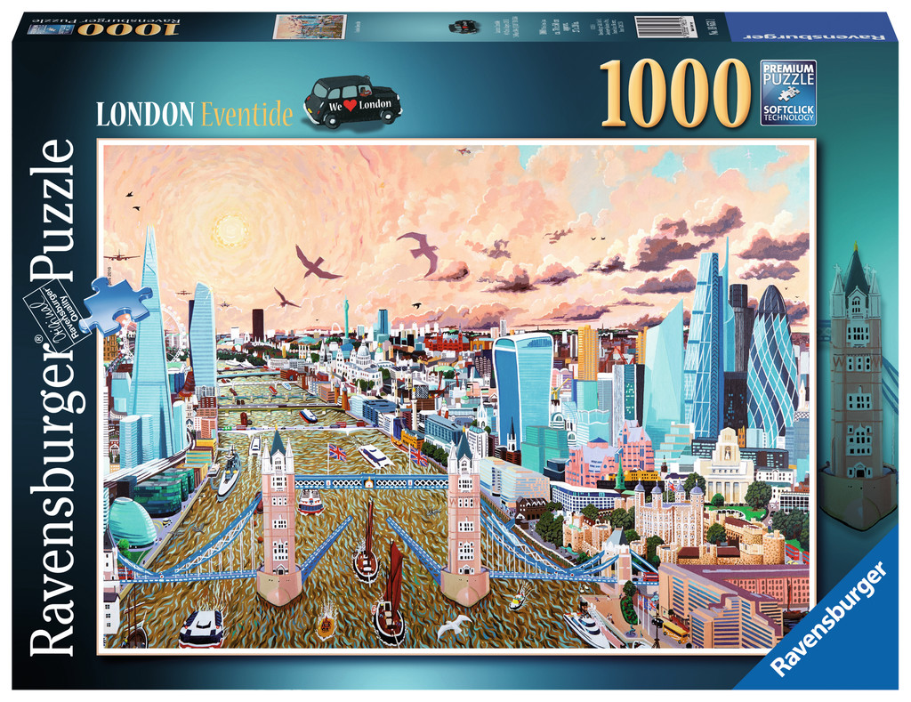 19653 Ravensburger London - Eventide Jigsaw 1000pcs Premium Puzzle Age 12yr+ Enlarged Preview