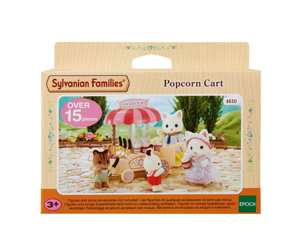 Sylvanian families food shop theme 4610 popcorn cart 3 for Sylvanian families cuisine