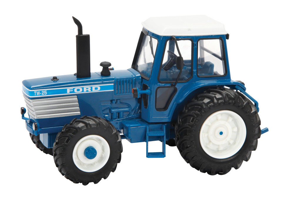 Big Ford Tractors : Tomy britains big farm ford tw tractor brand