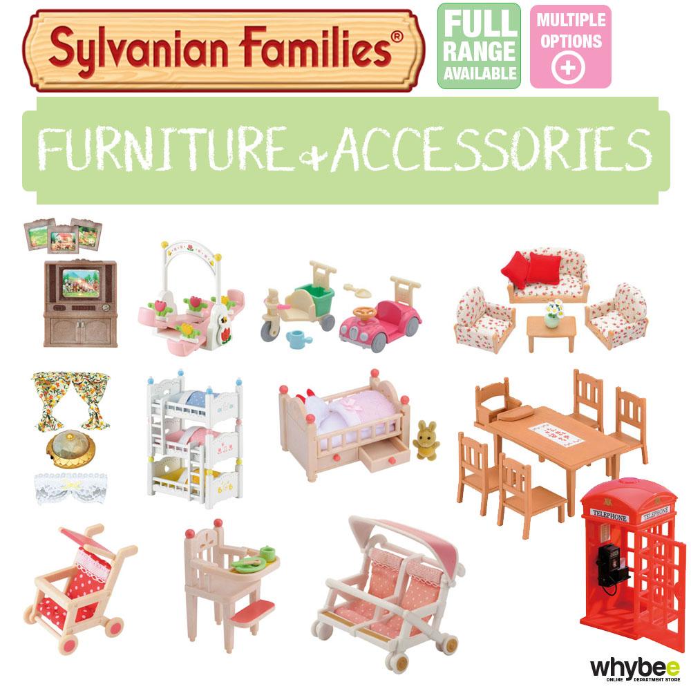 Sylvanian Families Furniture Amp Accessories Sets Choose