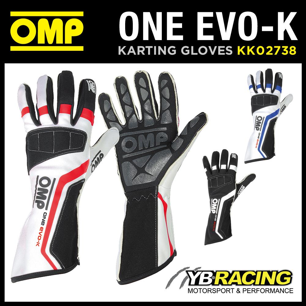 KK02738 OMP ONE EVO-K KART GLOVES