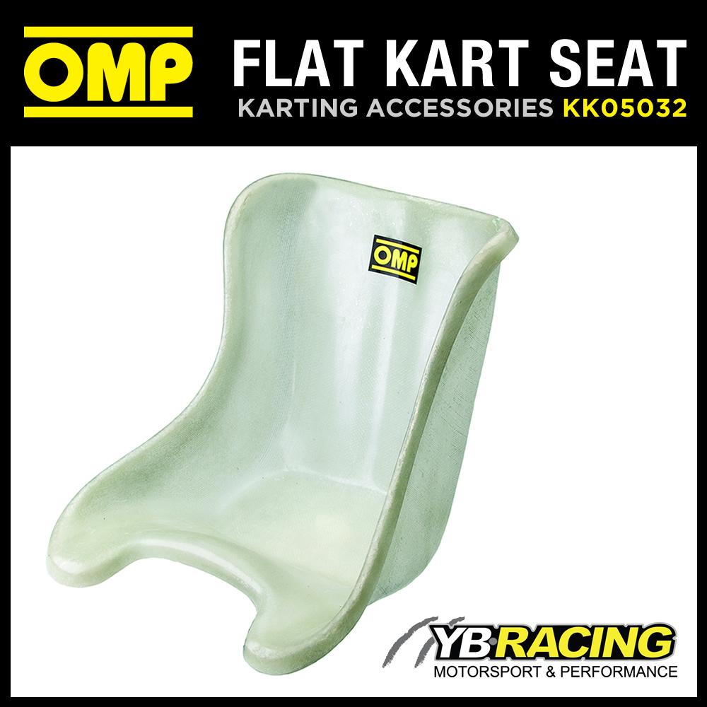 KK05032 OMP FLAT BOTTOM KART SEAT