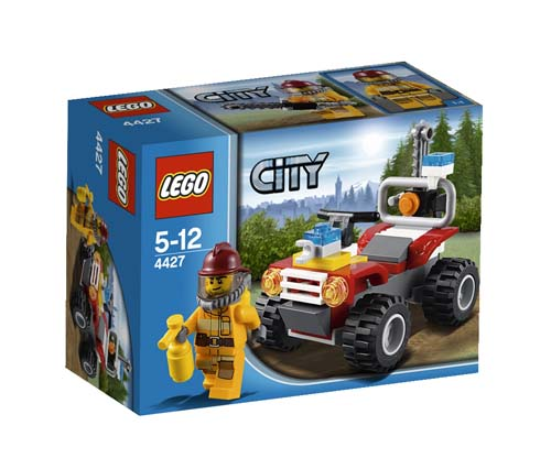 4427 LEGO Fire ATV LEGO City Fire Age 5-12 / 50 Pieces  2012 New Release!