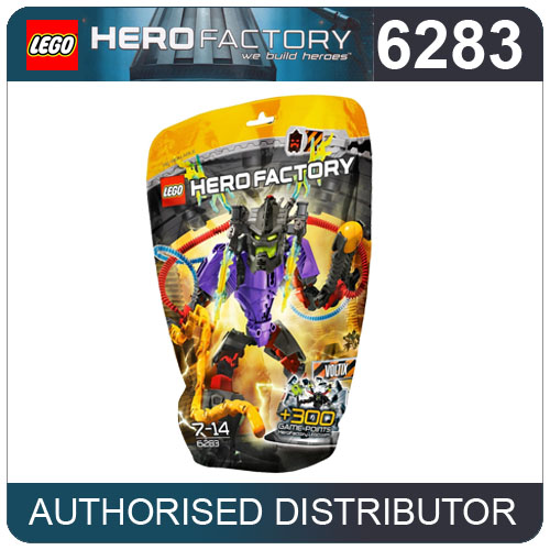 6283 LEGO VOLTIX Hero Factory HF Action Figures (L) Age 7-14 / 61 Pieces  New! Enlarged Preview