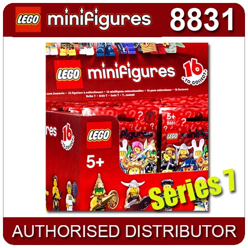 8831 LEGO Minifigures, Series 7 LEGO Minifigures Age 5+ / 7 Pieces  New Release! Enlarged Preview