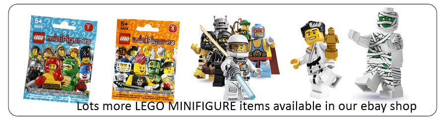 8831 LEGO Minifigures, Series 7 LEGO Minifigures Age 5+ / 7 Pieces  New Release!