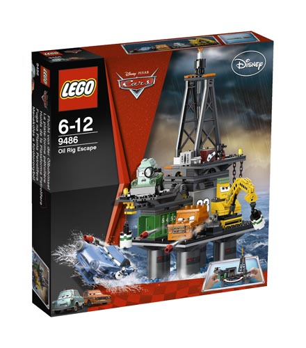 9486 LEGO Oil Rig Escape LEGO Racers Cars Age 6-12 / 422 Pieces  New for 2012!
