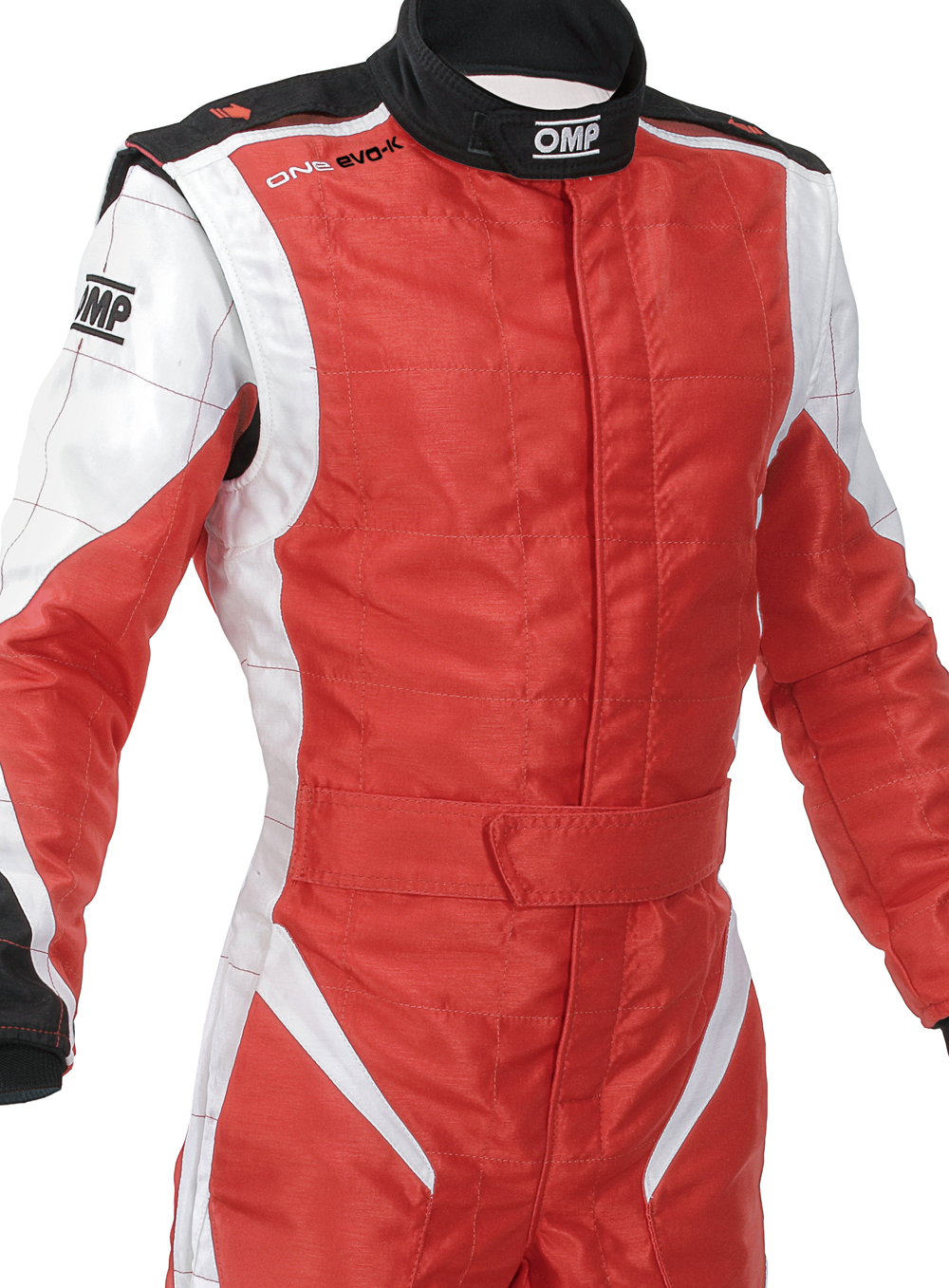 Kk01716 Omp One Evo K Kart Race Suit Size 44 Red White