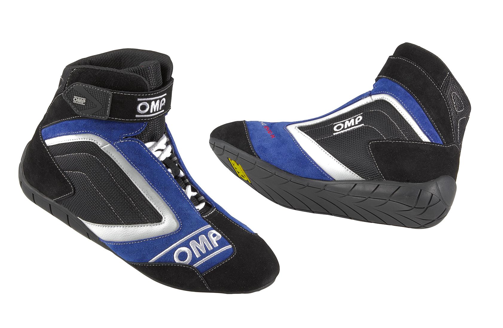 Ic 795 Omp One Evo K Karting Boots Euro 47 Uk 12 Blue