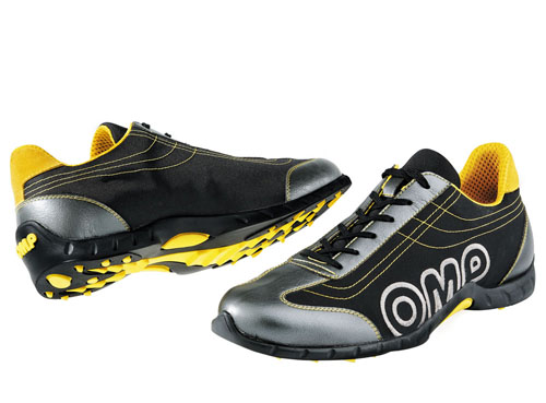 ORC3402 OMP RACING PADDOCK SHOES Euro 46 (UK 11) BLACK - SALE PRICE!