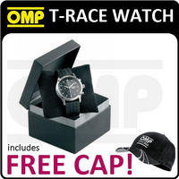 ORE/3914 OMP RACING T-RACE CHRONOGRAPH WATCH 44mm Diameter BLACK